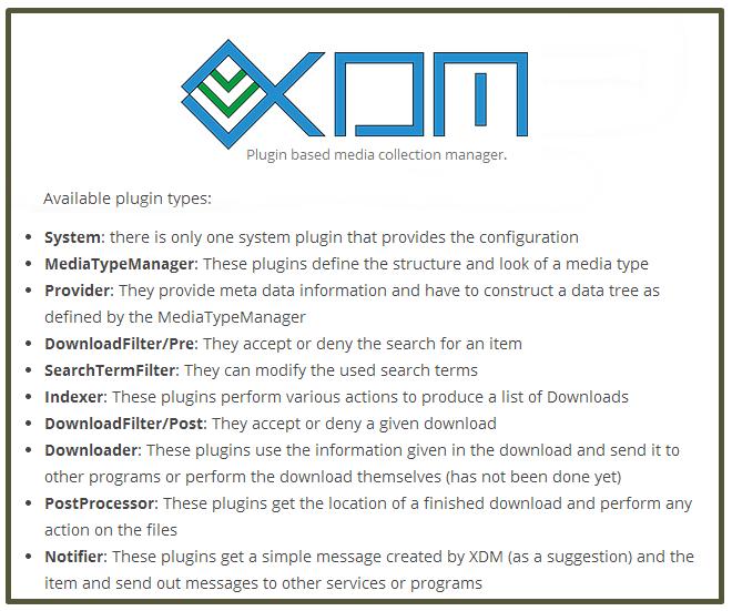 Xdm Description