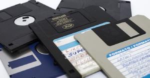 Ein Diskettenfehler führt zu einem Verlust von USENET-Daten