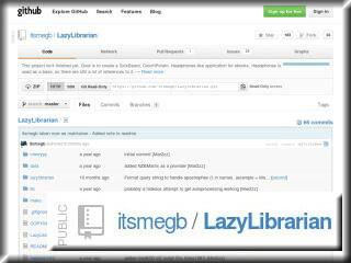 Lazylibrarian Screenshot