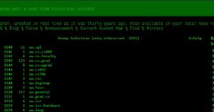 Wie das Usenet vor 30 Jahren aussah