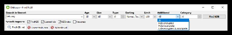 Getnzb Newsreader Search Engines 2
