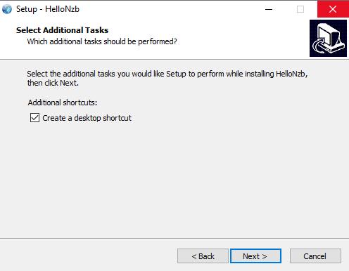 Hellonzb Desktop Shortcut