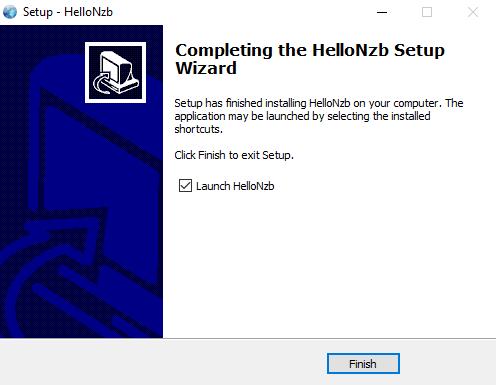 Hellonzb Finish