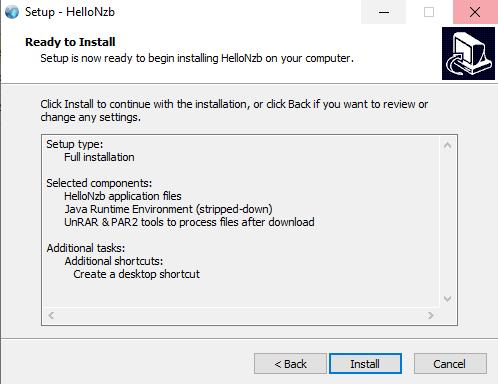 Hellonzb Install