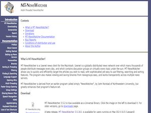 MT-Newswatcher X
