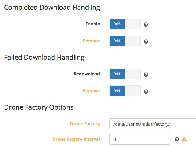Radarr Download Handling