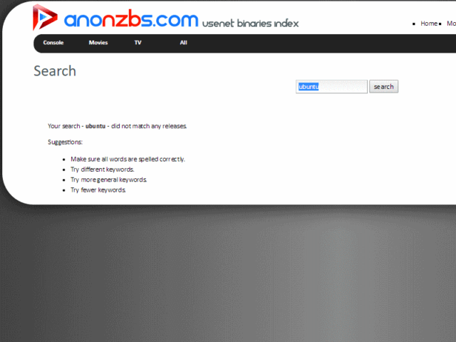 Anonnzbs Search