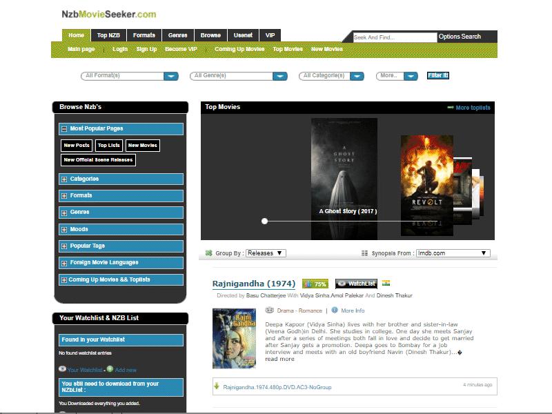 NZBMovieSeeker.com