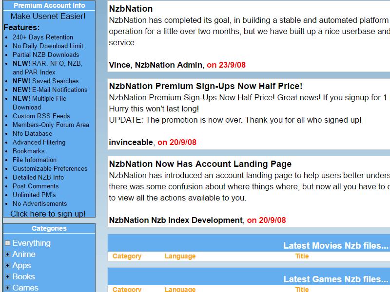 Nzbnation Nzbnation Nzb Site