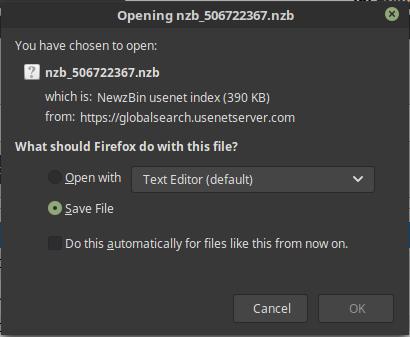 Usenetserver Savenzb